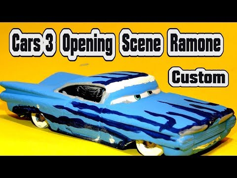 Pixar Cars 3 Opening Scene Ramone From Disney Mattel Toy Cars