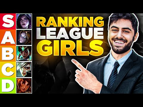 Yassuo | THE MOST ACCURATE RANKING OF GIRLS IN LEAGUE OF LEGENDS