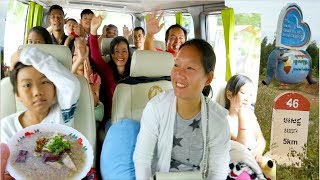 One Day Trip Crossing Kep Province, Kampot Province, Kampong Speu Province | Traveling in Cambodia