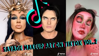 Savage Makeup Art I Found On TikTook