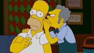 Homer's Arm-Wrestling Story
