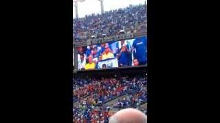USA Vs. El Salvador National Anthems