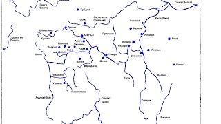 Протяженность дона на карте