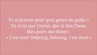 Abou Debeing ft Imen Es - C'est mort (ParoleLyrics)