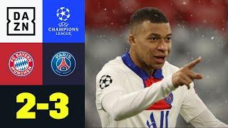 Mbappé eiskalt! Bayerns Aufholjagd reicht nicht: FC Bayern - PSG 2:3 | UEFA Champions League | DAZN