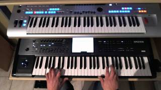 THE CHRISTIANS - WORDS - YAMAHA TYROS 4 - KORG KRONOS - PETRY GILLES