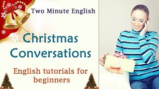 How to wish in English on Christmas - Wishing Merry Christmas in English - Spoken English Tutorials