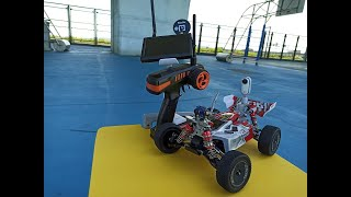 20200619 WLToys 144001 (RC Car) with Insta360 GO, FPV