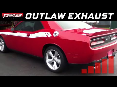 2015-16 Dodge Challenger R/T - Outlaw Axle-back Exhaust System 817718