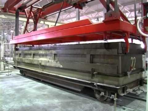 Производство ячеистого бетона / завод ячеистого бетона / AAC plant / AAC production