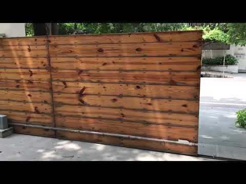Retractable Sliding Gates