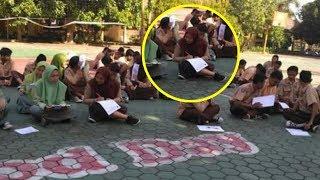 Viral 35 Siswa UAS di Lapangan karena Belum Lunas SPP, Wakepsek Ungkap Fakta Sebenarnya