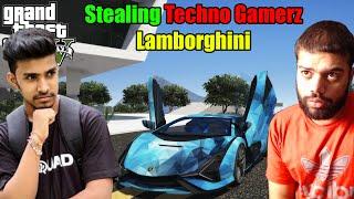 Stealing Techno Gamerz Lamborghini Sian | GTA 5 GAMEPLAY #18