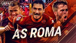 AS Roma | GREATEST European Goals & Highlights | Dzeko, Totti, Pjanić