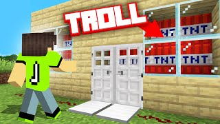 I Was HACKED In MINECRAFT & GOT TROLLED!