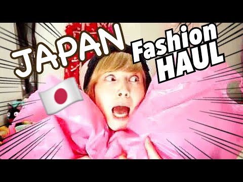 JAPAN THRIFT SHOP HAUL of kawaii alternative Japanese fashion