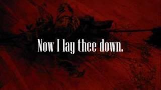 Machine Head - Now I lay thee down (Lyrics)