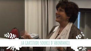 La gratitude source d'abondance par Meena Goll Compagnon