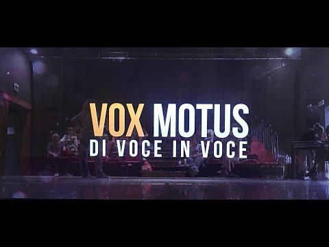 VOX MOTUS IL VIDEO DOCUMENTO DEL PROGETTO DI GUIDO CASTIGLIA