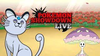Shiinotic  - (Pokémon) - Choices Specs Shiinotic em Ação! Pokémon Showdown Live | Ultra Sun & Moon #62 [PU]