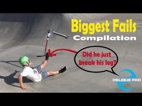 Scooter Fails Compilation