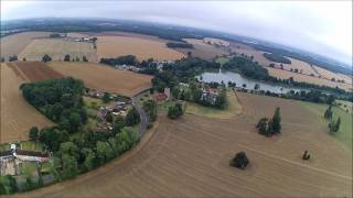 GOSFIELD SKATE PARK 20MINS FLIGHT HUBSAN X4 H501S HD FPV COUNTRYSIDE UK