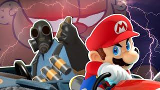 "Mario Kart ""Clones"" Vs Mario Kart"