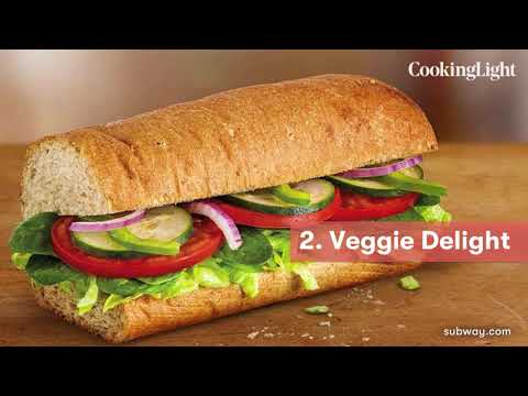 Health News Updates | Healthiest Subway Sandwiches | Cooking Light
