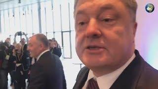 Опубликовано видео с выступлением пьяного Порошенко