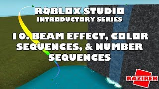 Roblox Beam Tutorial - How To Use The Beam Effect In Roblox