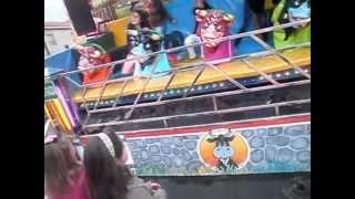 preview picture of video 'Los Toros Locos En Palomares Del Campo 30-4-2012 (parte 1)'