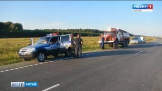 На выходных в Алтайском крае произошло несколько ДТП