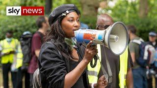 Black Lives Matter activist Sasha Johnson critical after shooting - CRITICAL