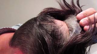 Mens Hair System Review Poly thin skin Final Review!!