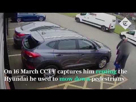 CCTV reveals Westminster attacker's preparations
