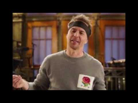 Sam Rockwell does 'Golden Globe-level prep' for SNL in new promo