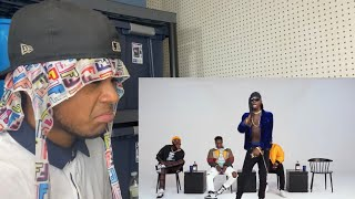 American Reacts To South African Rap | Martell Cypher 2019-M.I. ABAGA, BLAQBONEZ, A-Q, LOOSE KAYNON