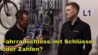 vit:safety 6 - Fahrradschloss mit Schlüssel oder Zahlen?