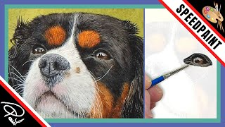 Dog Eye Watercolour Painting Tutorial - How to paint dog or cats eyes