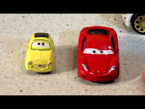 Cars The Haulers Review And A New Hauler For Pixar Cars With Mack Octane Gain And Off Road McQueen