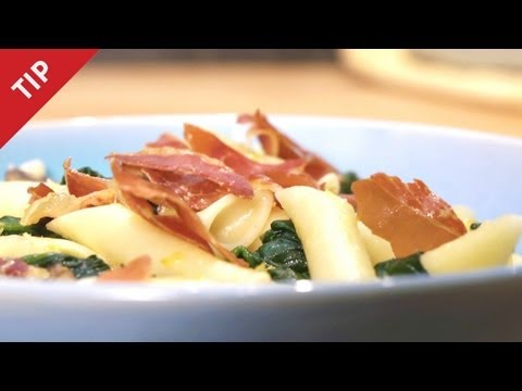 Substitute Bacon With Baked Prosciutto