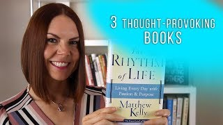 3 Books That Will Inspire You to Think Differently About Life