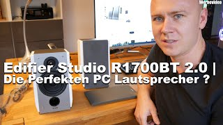Edifier Studio R1700BT 2.0   Die Perfekten PC Lautsprecher ?