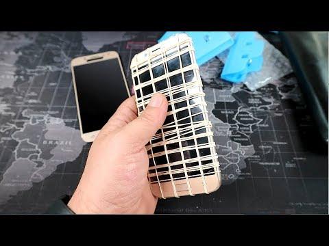 Τοποθέτηση οθόνης Samsung Galaxy J5 2017. Της οθόνης το λαστιχένιο κάγκελο...