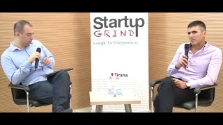 preview picture of video 'Gentian Likaj (Communication Progress) at Startup Grind Tirana'