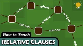 RELATIVE CLAUSES in 4 Steps
