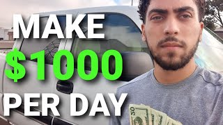 How to Make $1000 a Day With a Pickup Truck