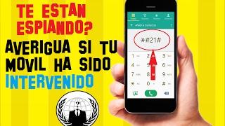 Cómo SABER Si Mi TELÉFONO Está INTERVENIDO   SABER Si Te VIGILAN   TRIANGULACION De ANTENAS