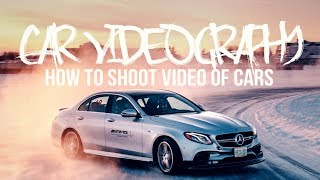 How to shoot VIDEO of CARS!