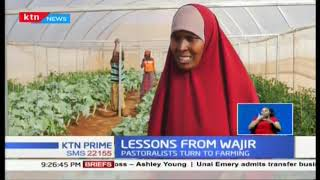 Women in Wajir County reaping big after venturing into horticulture through greenhouse farming.